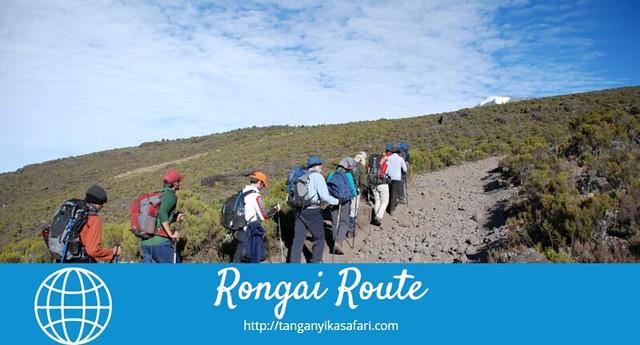 The  Kenya Closer Rongai Route To Trekking In Mount  Kilimanjaro