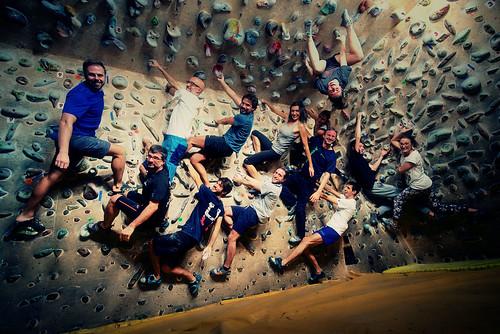 Fantasyclimbing corso di arrampicata il deposito di zio Paperone 2