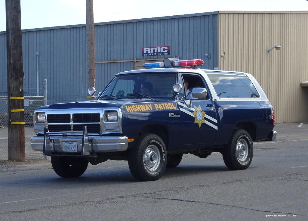 Nevada Highway Patrol 1993 Dodge Ramcharger Restored 1 Flickr