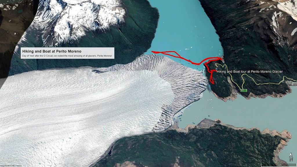 Perito Moreno Map