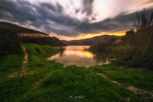 bulb dam landscape landscapephotography longexposure sunset water clouds nature sky