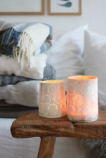 Kerzenschein und Kuscheldecken | by herz-allerliebst
