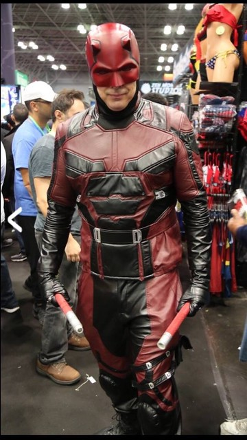 Daredevil cosplay at NYCC (10/6/2018).