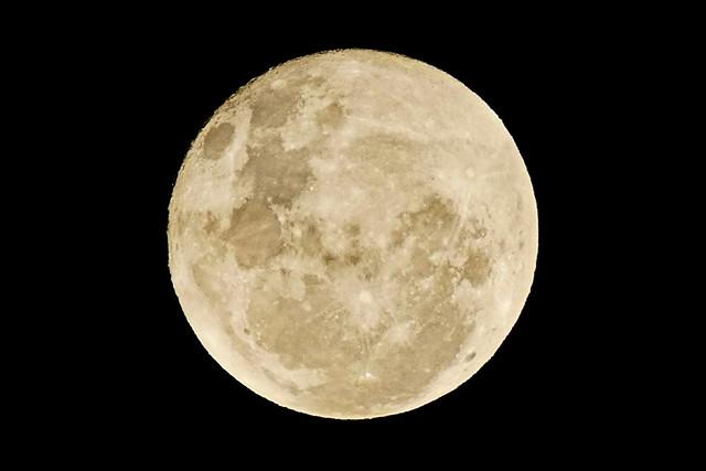 Dernière pleine lune de l'année