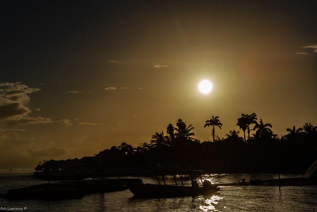 Sun not long up Runaway Bay Jamaica