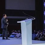 John Defterios during Plenary 3 session at IRU World Congress