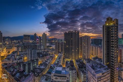 oldbuilding kowlooneast 日出 红磡 nikon d850 nikkor fisheye 16mm hongkong kowloon axis sunrise cloud building yahoo google matauwai city cityscape