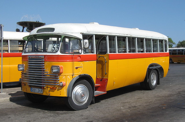 ATP Malta bus 1939 REO Speedwagon DBY368 final week as a routebus before new life preserved