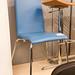 Leatherette chair E35