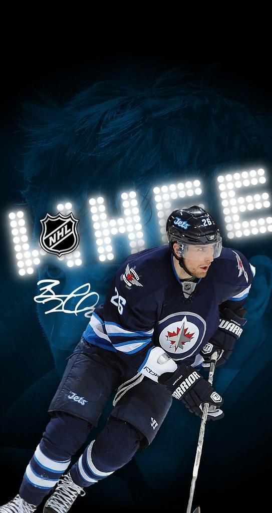 ... Blake Wheeler (Winnipeg Jets) iPhone 6/7/8 Wallpaper  