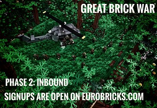 Phase 2 will be starting after the holiday season. We are starting signups now. Join us! Eurobricks.com