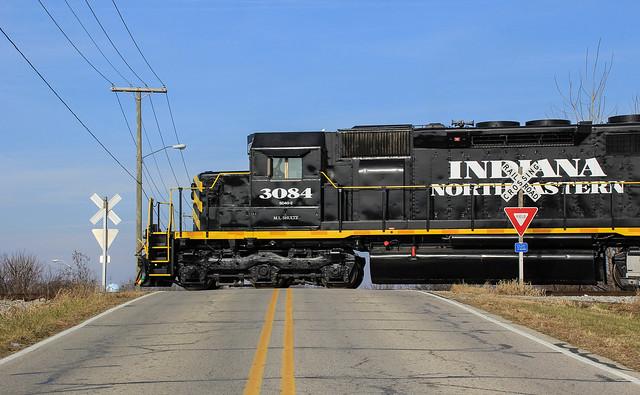 INER 3084 West across Indiana.