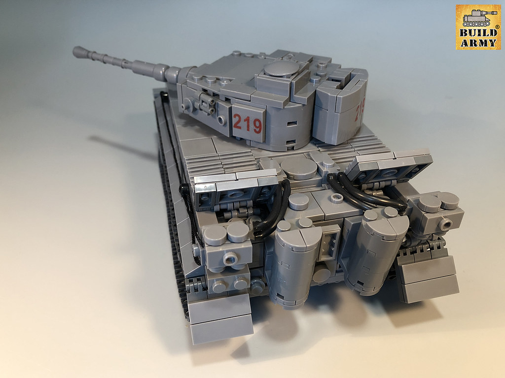 Ww2 Tiger 1 Tank Version 2 By Buildarmy Original Designed