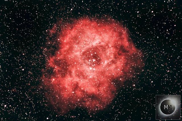 The Rosette Nebula 2nd/3rd February 2019
