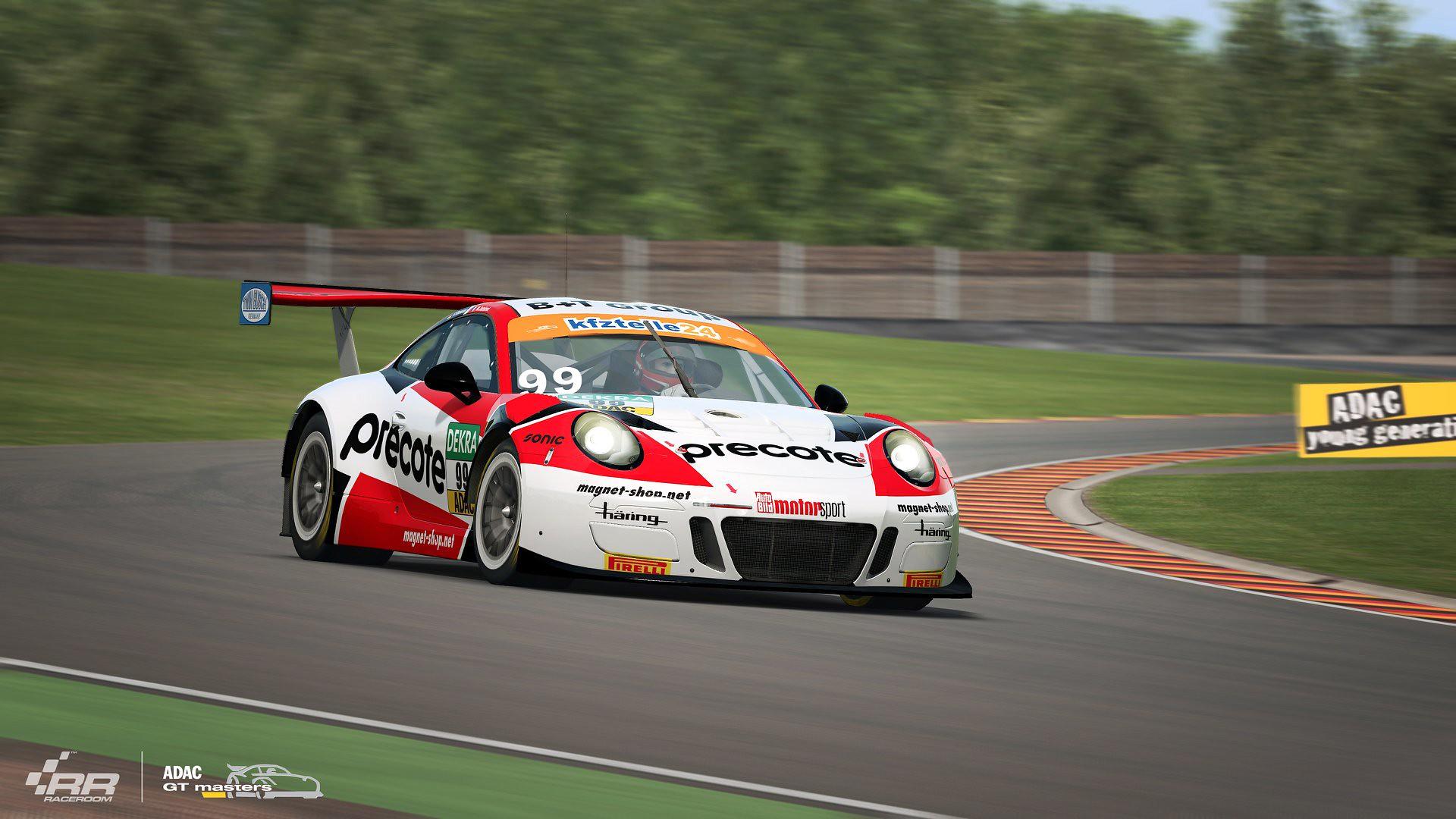 RaceRoom ADAC GT Masters 2018 Porsche 5