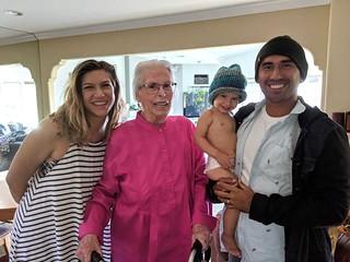 Mom (Virginia Sexton) w/ Chelsea and Boris   by newportironman