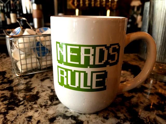 Nerds Rule Coffee Cup