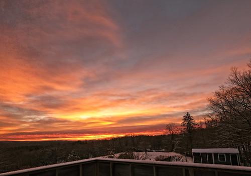 sunrise arloguthrie fujixt3 washingtonma thefarm twilight