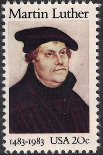 Martin Luther stamp | by Tier Historical Archive