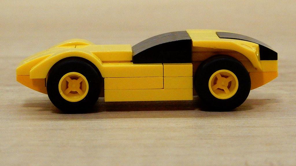 Lego SuperSport Car - Building Instructions (MOC - 4K) | Flickr