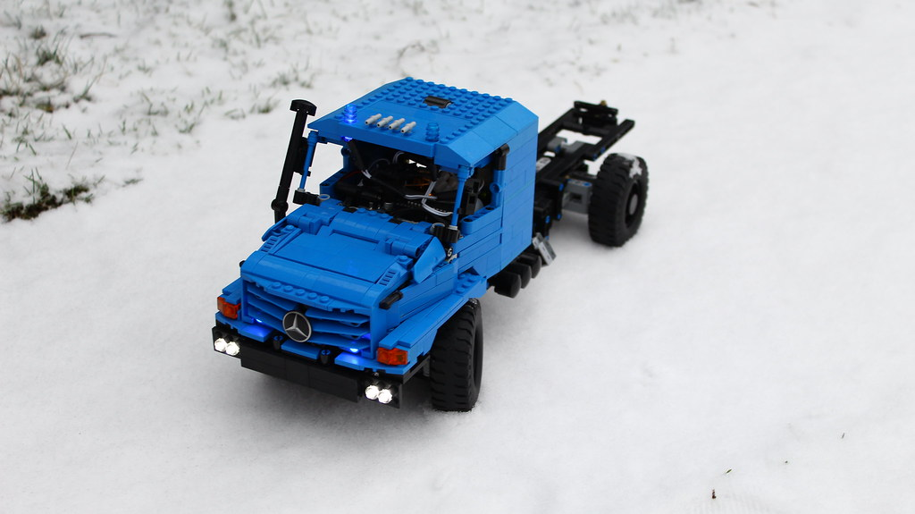Lego® Technic Trucks in SNOW