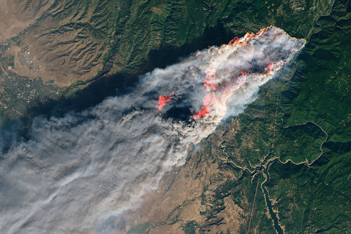 Camp Fire Rages in California | by NASA Goddard Photo and Video
