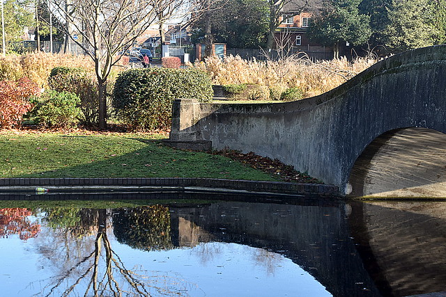 The Moat, Perry Hall Park.
