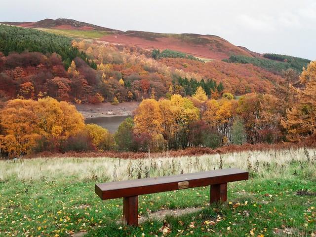 Overlooking Ladybower Reservoir