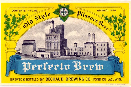Bechaud Brewery Perfect Brew Label