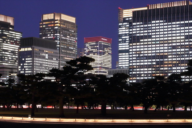 Marunouchi at Night