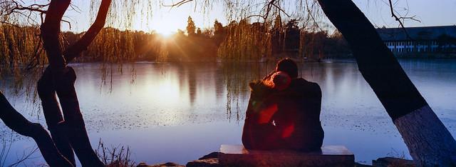 未名湖之冬(Winter of the Unnamed Lake, Peking University)