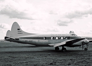 ST-AAC DH-104 Dove 1 Sudan Airways