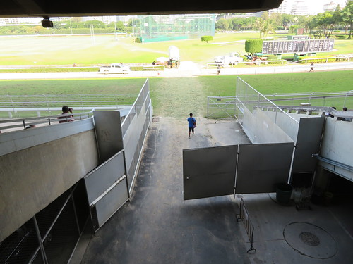 ロイヤルバンコクスポーツクラブの馬の入口