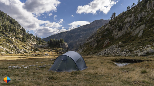 Helsport Lofoten Superlite Camp 3 somewhere in the Spanish Pyrenees | by HendrikMorkel