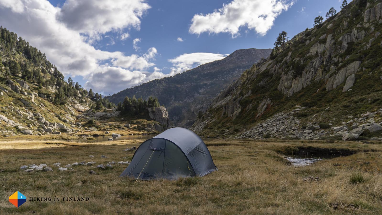 Helsport Lofoten Superlite Camp 3 somewhere in the Spanish Pyrenees