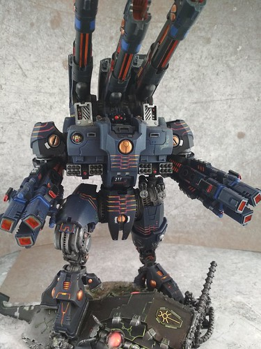 KX139 Taunar Supremacy Armour with Battlesuit Commander00020 | by Wargaming Mamas