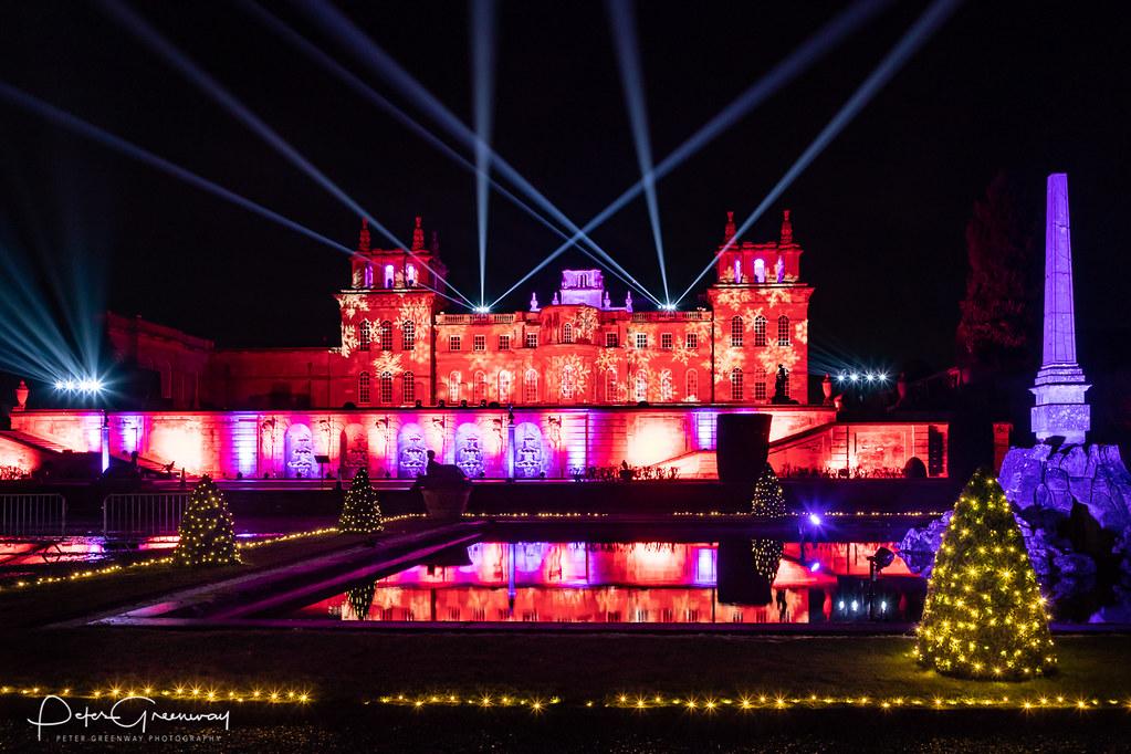 Blenheim Palace Christmas Light Trail - The Illuminated Pa… | Flickr