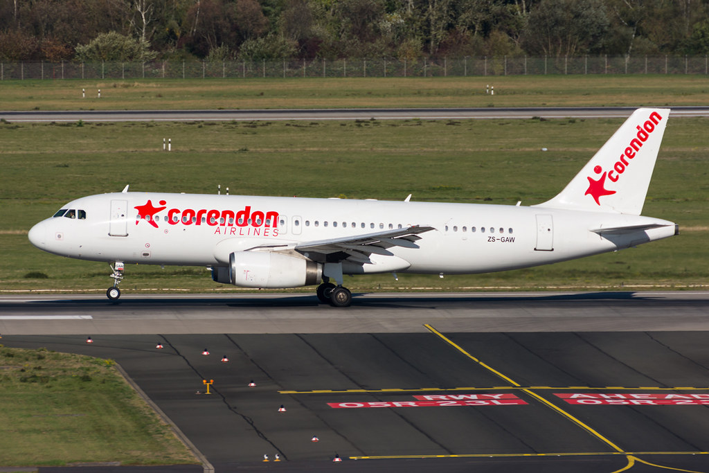 ZS-GAW - Corendon Airlines (Global Aviation) - Airbus A320-231