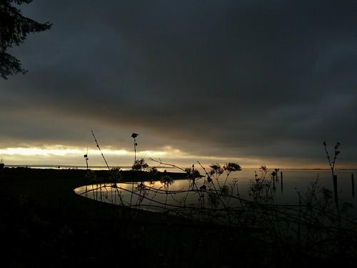 nightoceansunsetaftersunsetnearvancouvercrescentbeach darkness gegenlicht contraluce