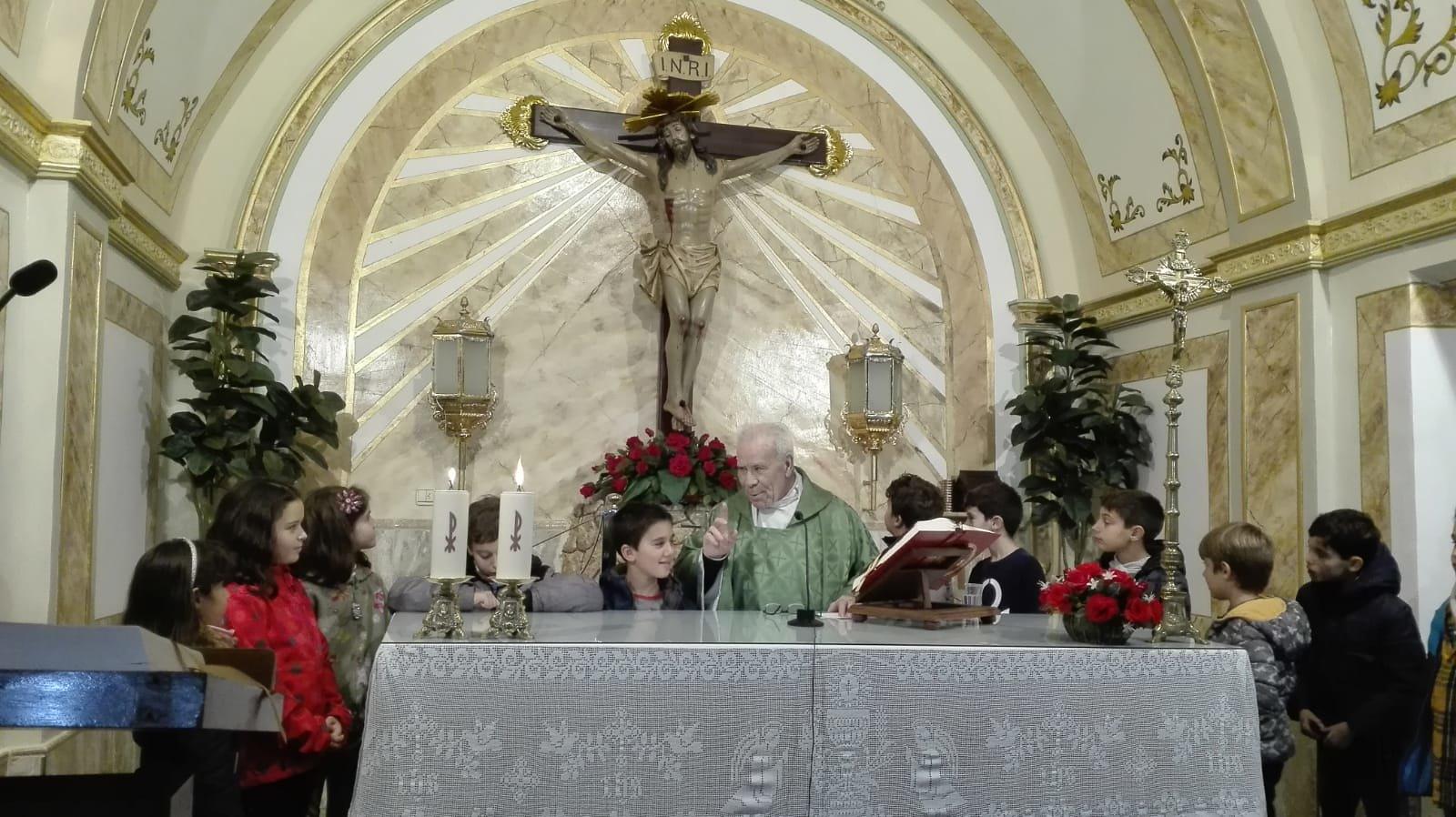 (2018-11-23) - Visita ermita  Esther-Maria Mercedes,2º,Catequesis - Vicente Rico (04)
