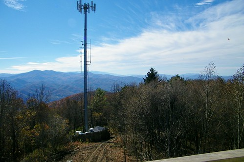 rich mountain fire lookout tower pisgah appalachian