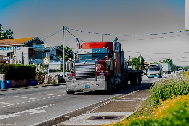 Truck Spotting , Runaway Bay Jamaica.