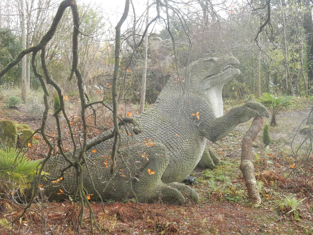Iguanodon ? Crystal Palace to Forest Hill walk