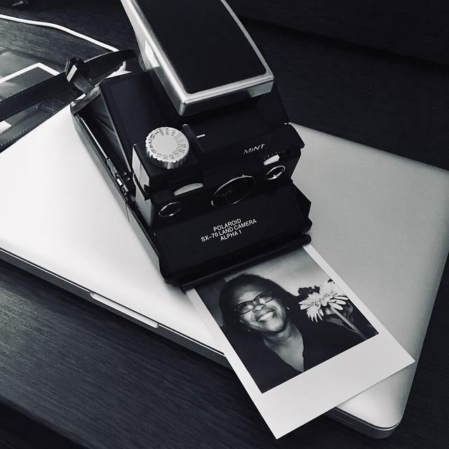MiNT SLR670-S and Polaroid Originals 600 Black and White film