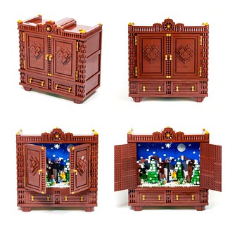 The Narnia Wardrobe Collage | by bricksom