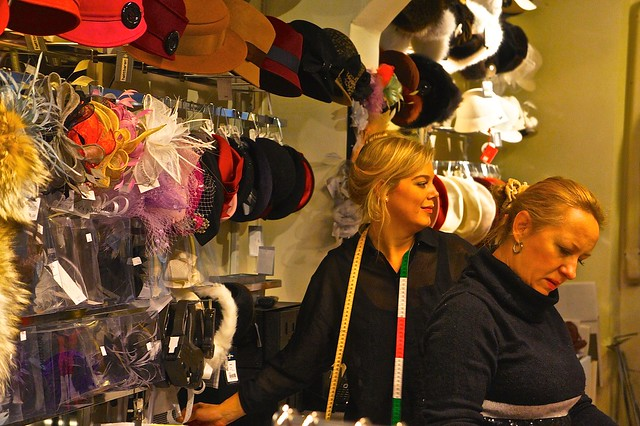 Sodermalm's SoFo neighborhood. Beautiful people. Saturday afternoon at a vintage boutique.