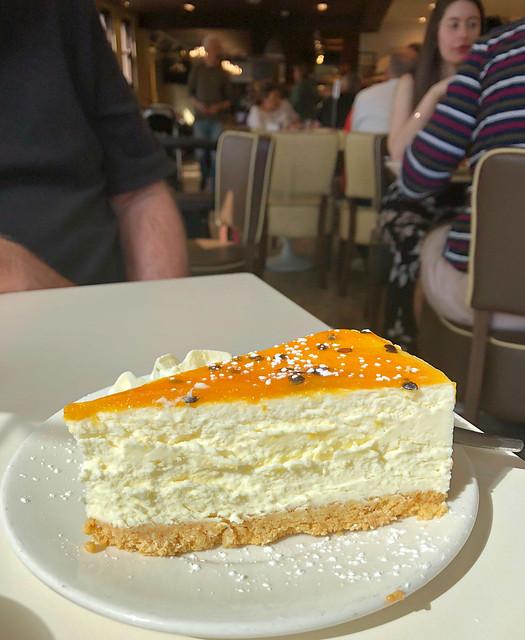 2018 Sydney: Passionfruit Cheesecake
