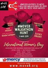 Move8 Walkathon Hunt Women's Day 3 Mar 2019