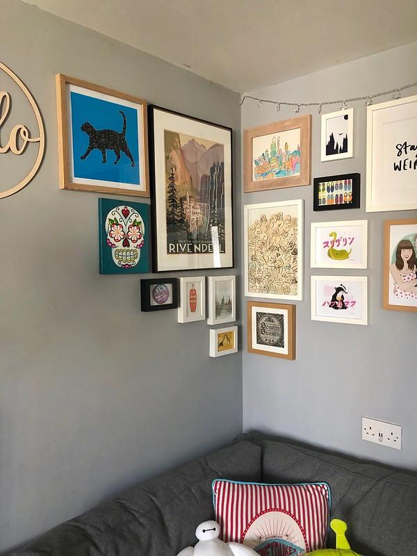gallery wall - length