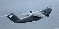 Royal Air Force Airbus Military A400M Atlas C1 ZM419 departing RAF Gibraltar/LXGB
